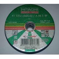 Диск отрезной по металлу HITACHI 125х1х22