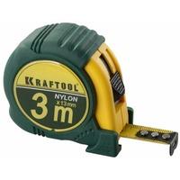 Рулетка Kraftool 3 м. * 19 мм. шкала с нейлоновым покрытием