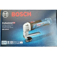 Листовые ножницы Bosch GSC 12V-13