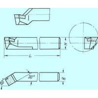 Резец Расточной 16х16х140 Т5К10 для сквозных отверстий
